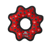 Tuffy Gear Ring Dog Toy - Red