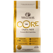 Wellness CORE® INDOOR Deboned Chicken, Turkey and Chicken Meals Dry Cat Food