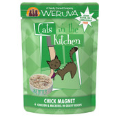 Cats in the Kitchen Chick Magnet Chicken & Mackerel in Gravy Recipe Cat Food Pouch