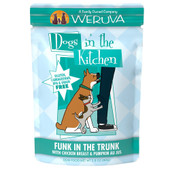 Dogs in the Kitchen Funk in the Trunk with Chicken & Pumpkin Au Jus Dog Food Pouch