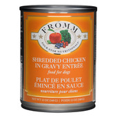 Fromm Four-Star Shredded Chicken in Gravy Entree Canned Dog Food