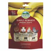 Oxbow Simple Rewards Small Animal Banana Treats