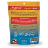Charlee Bear Crunch Bacon & Blueberry Flavor Grain-Free Dog Treats