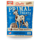 Primal Turkey Liver Munchies Freeze Dried Dog & Cat Treats