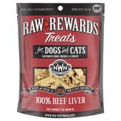 Raw Rewards Beef Liver Freeze Dried Dog & Cat Treats
