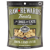 Raw Rewards Lamb Liver Freeze Dried Dog & Cat Treats