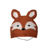 SimplyDog Fox Ears Knit Dog Hat