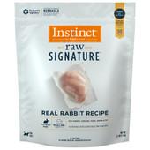 Instinct Raw Signature Frozen Medallions Real Rabbit Recipe Cat Food