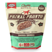 Primal Pronto Raw Frozen Canine Chicken Formula Dog Food
