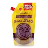 Primal Frozen Turkey Bone Broth for Cats & Dogs