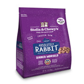 Stella & Chewy's Absolutely Rabbit Dinner Morsels Frozen Raw Cat Food