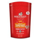 Stella & Chewy's Super Beef Dinner Patties Frozen Raw Dog Food