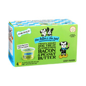 The Bear & The Rat Bacon & Peanut Butter Frozen Yogurt Dog Treat