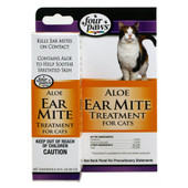 Four Paws Aloe Ear Mite Treatment for Cats