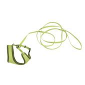 Coastal Comfort Soft Adjustable Lime Cat Harness with 6' Leash