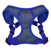Comfort Soft Sport Wrap Adjustable Blue Dog Harness
