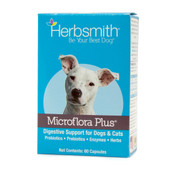 Herbsmith Microflora Plus Digestive Support for Dogs & Cats