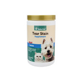 NaturVet Tear Stain Powder Supplement for Dogs & Cats