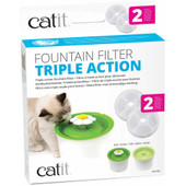 Catit Fountain Triple Action Filters