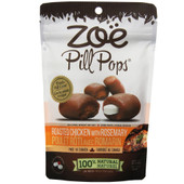 Zoe Pill Pops Roasted Chicken with Rosemary Flavor Dog Treats