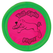Booda Tail Spin Flyer Dog Toy