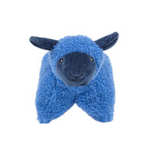 HuggleHounds Squooshie Lamb Plush Dog Toy