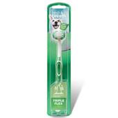 Fresh Breath By Tropiclean TripleFlex Dog Toothbrush