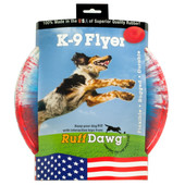 Ruff Dawg K9 Flyer Rubber Retrieving Dog Toy