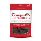 Crumps' Naturals Traditional Liver Fillets Dog Treats