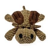 Patchwork Pet Waffle Wags Waffle Moose Plush Dog Toy