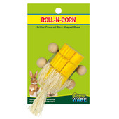 Critter Ware Roll-N-Corn Small Animal Chew Toy