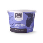 Kiwi Kitchens Venison Dinner Frozen Raw Cat Food