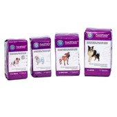 PoochPants Disposable Absorbent Dog Diapers - Sizes XS, S, M, L
