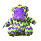 Hero Chuckles Monkey Plush Dog Toy