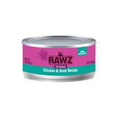 RAWZ Shredded Chicken & Duck Recipe Adult Canned Cat Food