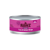 RAWZ Shredded Tuna & Salmon Recipe Adult Canned Cat Food