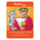 RAWZ Aujou Chicken Breast & Pumpkin Recipe Wet Cat Food - Front