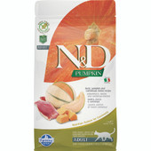 Farmina N&D Pumpkin Duck, Pumpkin and Cantaloupe Melon Recipe Adult Dry Cat Food