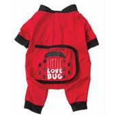 Petrageous Designs Little Love Bug Pajamas for Dogs