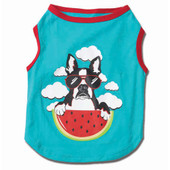 Petrageous Designs Watermelon Graphic Tee for Dogs