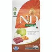 Farmina N&D Pumpkin Venison, Pumpkin and Apple Recipe Adult Dry Cat Food