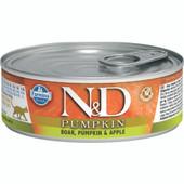 Farmina N&D Pumpkin Boar, Pumpkin & Apple Recipe Adult Canned Cat Food