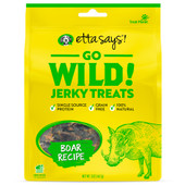 Etta Says! Go Wild! Boar Recipe Dog Jerky Treats