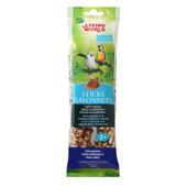 Living World Parrot Honey Flavor Bird Treat Sticks