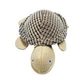 NanDog My BFF Grey Corduroy Turtle Dog Toy