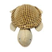 NanDog Tan Corduroy Turtle Dog Toy
