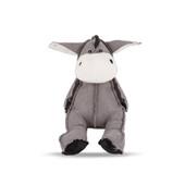 NanDog Grey Plush Donkey Dog Toy
