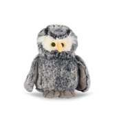 NanDog My BFF Grey Plush Owl Dog Toy