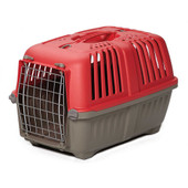 "MidWest 22"" Spree Red Travel Pet Carrier"