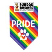 FunDog Bandanas Pride Dog Bandana